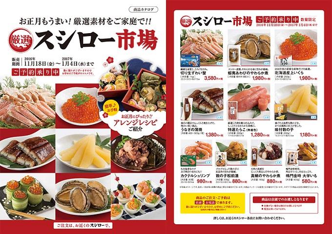 スシロー市場 商品カタログ