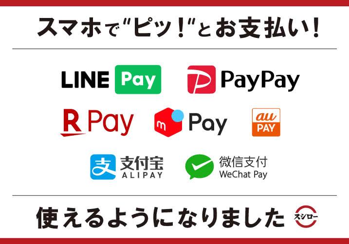 支払い 方法 スシロー