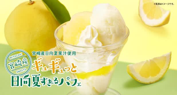 ◆ギュギュっと日向夏すぎるパフェ<1杯300円(税込330円)>※お持ち帰り対象外